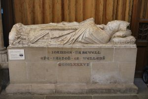 Tomb of John Harewell in Wells Cathedral